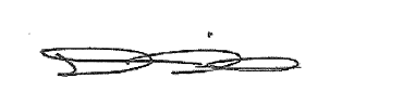 Signature of Dion Weisler