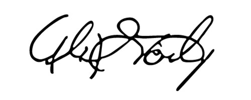Signature of Alex Gorsky