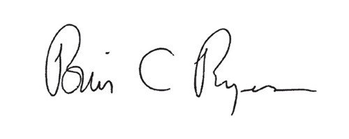 Signature of Brian Rogers