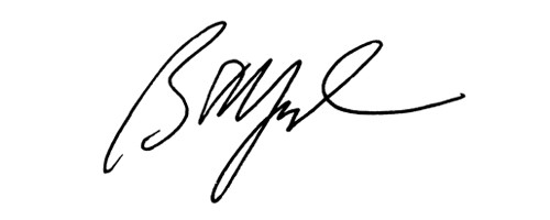 Signature of Brian Moynihan