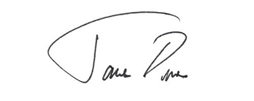 Signature of Jamie Dimon