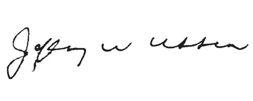 Signature of Jeff Ubben