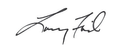 Signature of Larry Fink