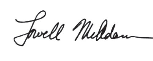 Signature of Lowell McAdam