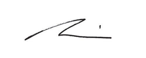 Signature of Mark Machin