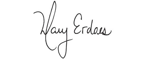 Signature of Mary Erdoes