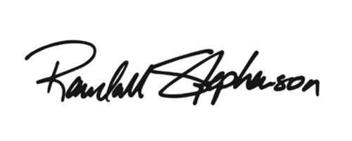 Signature of Randall Stephenson